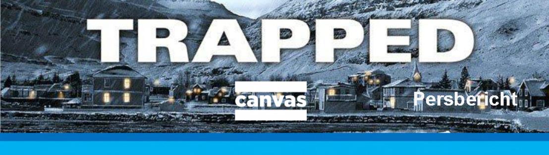Nieuw op Canvas: Trapped - internationaal bekroonde fictie uit IJsland