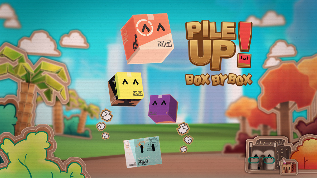 Ready, get set, unpack! 'Pile Up! Box by Box' is out now!