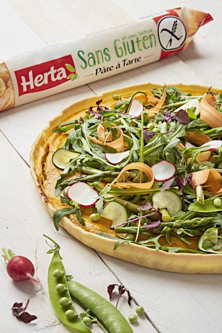 Herta - Tarte carottes et légumes croquants
