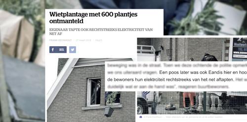 Infrax op Kanaal Z: plan tegen energiefraude