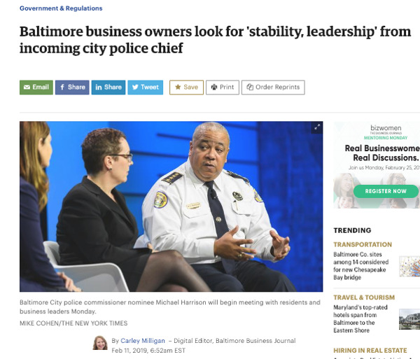 Preview: My conversation with the Baltimore Business Journal