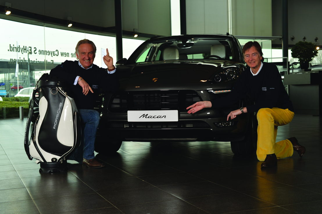 Jean Heinen, Director Porsche Import and Denis Heskin, Managing Director de Golfstar Europe
