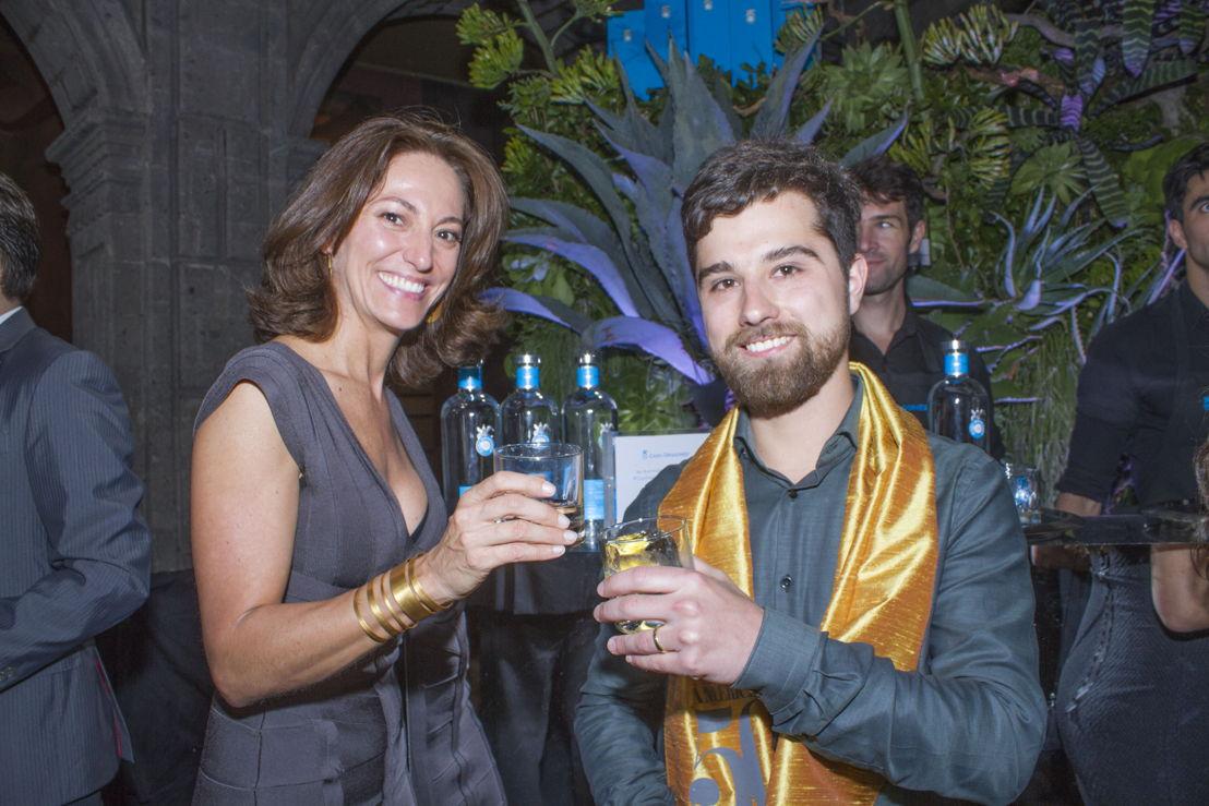 Sandra Chollet con Gustavo Saez