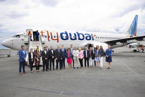 Первый рейс flydubai приземлился в Салониках