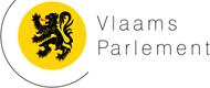 Vlaams Parlement perskamer Logo