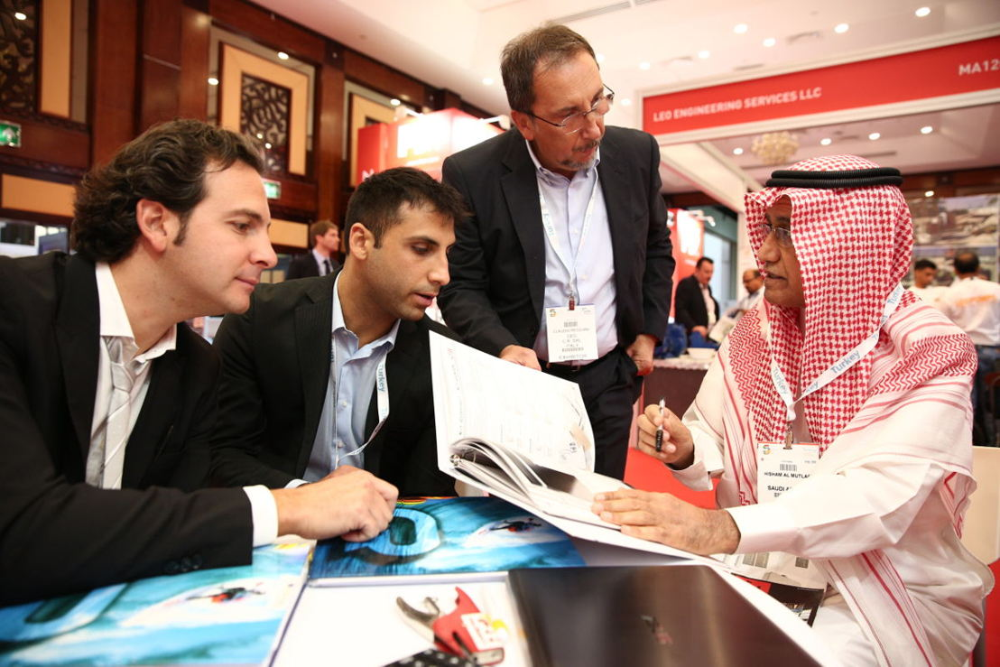 Business at The Big 5 2017 in Dubai