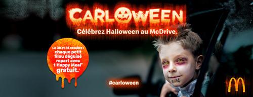 TBWA et McDonald's assurent une terrible fête d'Halloween pour les enfants malgré le coronavirus!