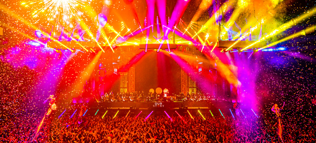 28.000 mensen vieren 15 jaar Tomorrowland op jubileumspektakel Our Story in Amsterdam