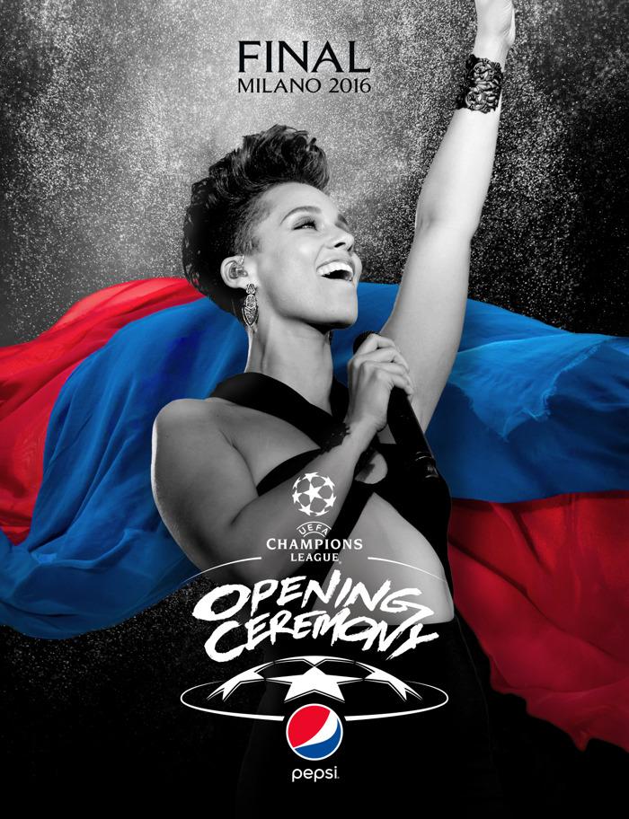 L'UEFA et Pepsi® organisent une première scène live dans le cadre de la finale de l'UEFA Champions League