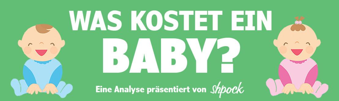 Was kostet ein Baby in Deutschland?