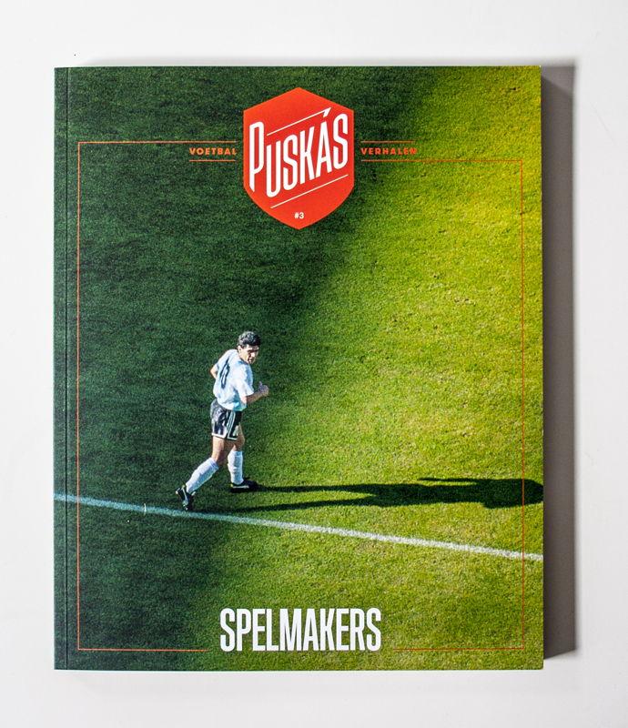 Puskas - Tijdloos voetbalmagazine - Pjotr Grafisch Ontwerp voor Heeren Vertrekt -<br/> Henry van de Velde Communication Award Nominee