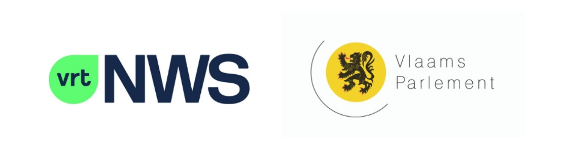 """VRT NWS en het Vlaams Parlement slaan in aanloop naar de verkiezingen de handen in elkaar om leerlingen te informeren over politiek en democratie met de EDUbox """"Democratie""""."""