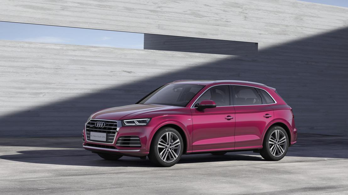 l'Audi Q5L au Salon de l'Automobile de Pékin