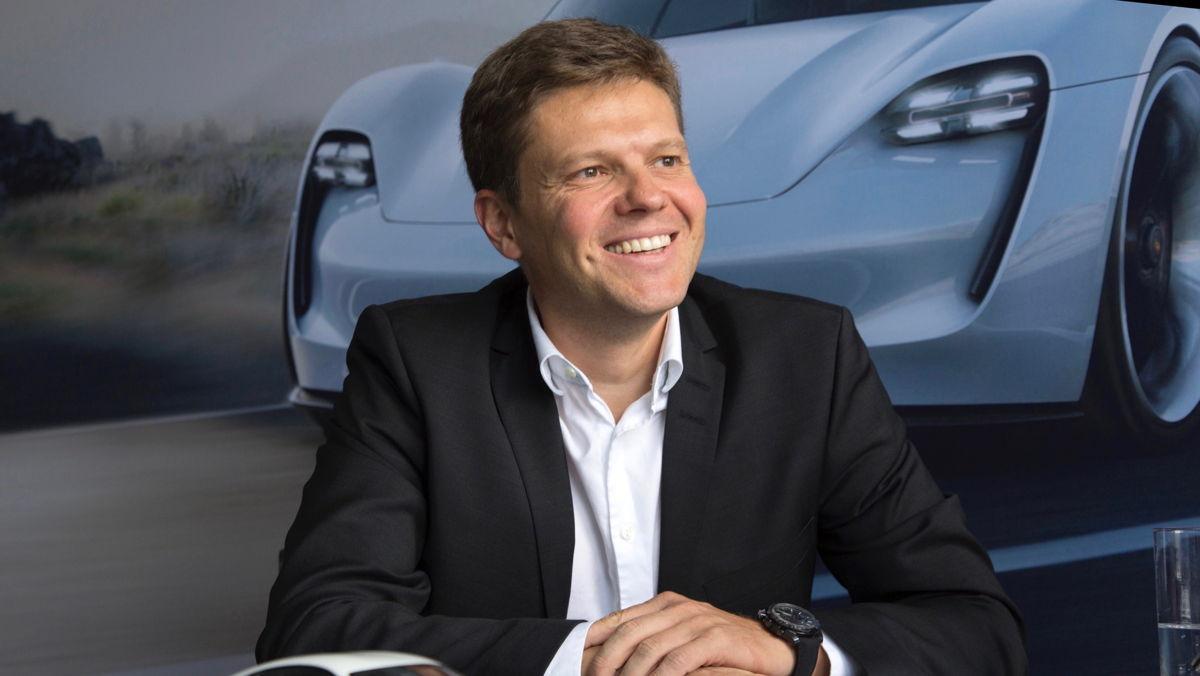 Stefan Weckbach, responsable de la gama Taycan.