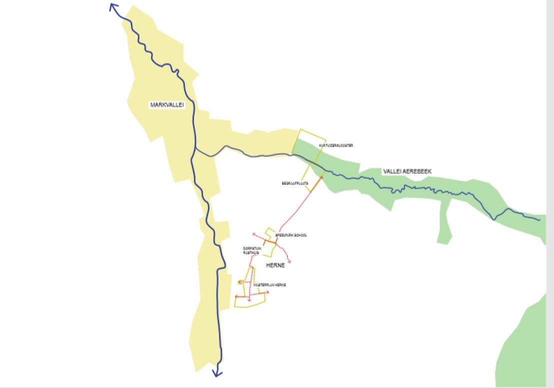Aerebeekvallei in Herne wordt Klimaatvallei