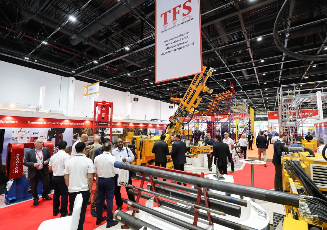 The Big 5 Heavy exhibition gathers 300+ companies from over 30 countries