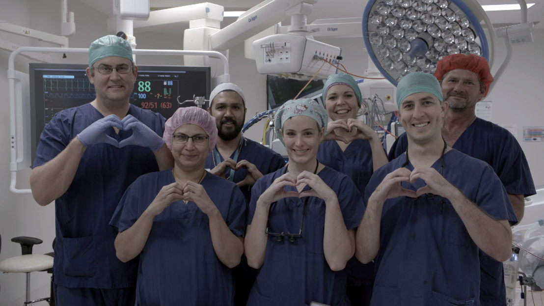 Download image of Dr Nikki and team