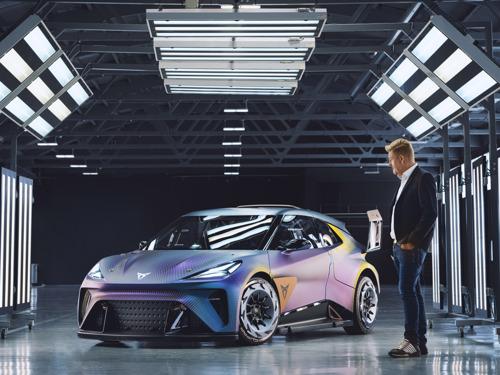 World Premiere of the CUPRA UrbanRebel Concept: CUPRA's most rebellious interpretation of an urban electric car
