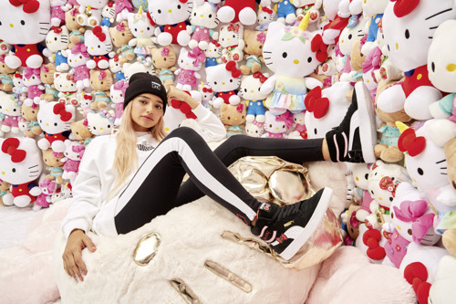 ¡Hello Kitty y PUMA combinan lo sporty y lo cute!