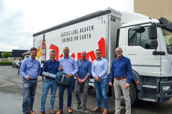 """Fraikin vernieuwt volledige vloot Brouwerij De Valk op tijd voor """"zomer van de vrijheid"""""""