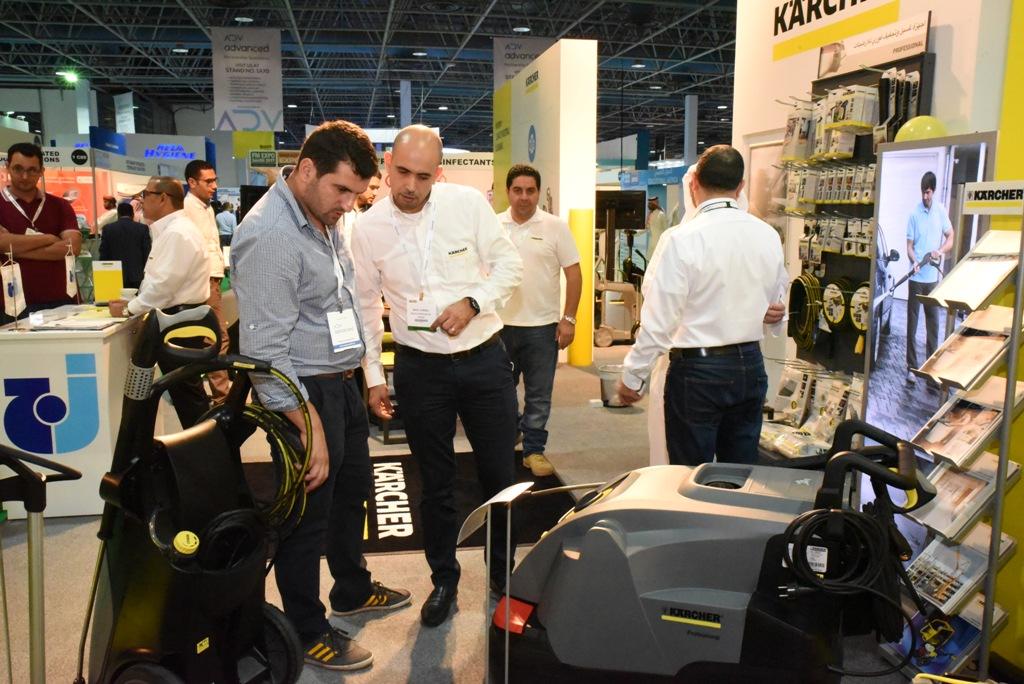 Exhibitors at FM EXPO Saudi and Saudi Clean Expo 2017