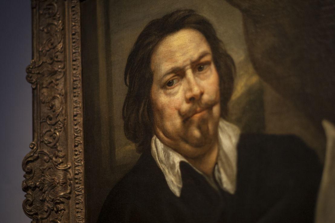 Jacob Jordaens, Zelfportret, detail, langdurig bruikleen van Koning Boudewijnstichting, foto Ans Brys