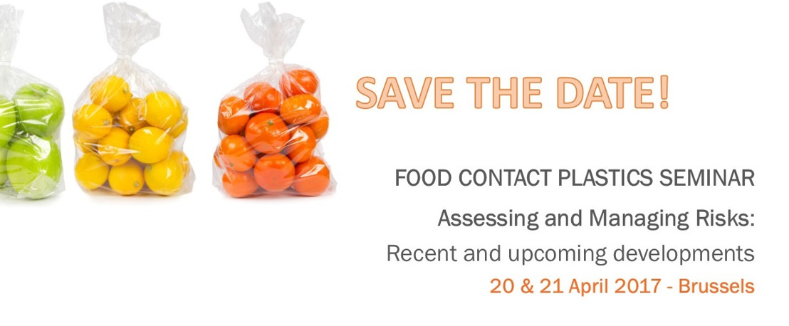 SAVE THE DATE: Food Contact Plastics Seminar 2017