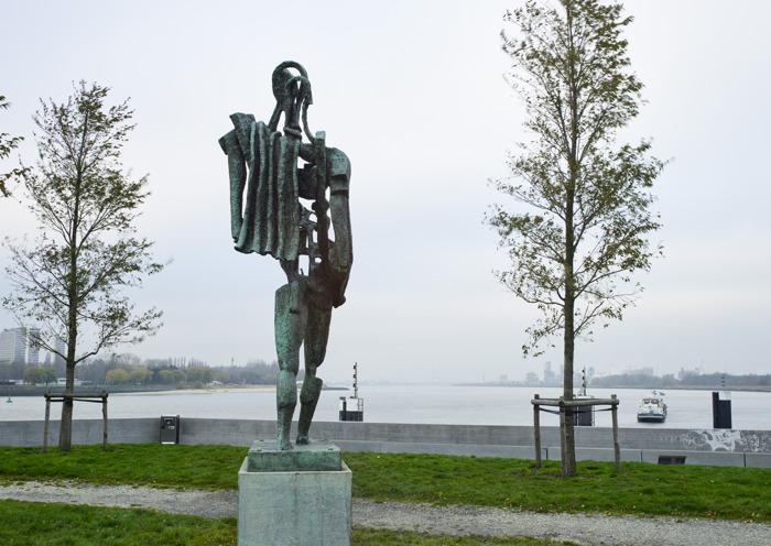 Beelden uit de collectie Kunst in de Stad krijgen opnieuw plaats in vernieuwde publieke ruimte Antwerpen