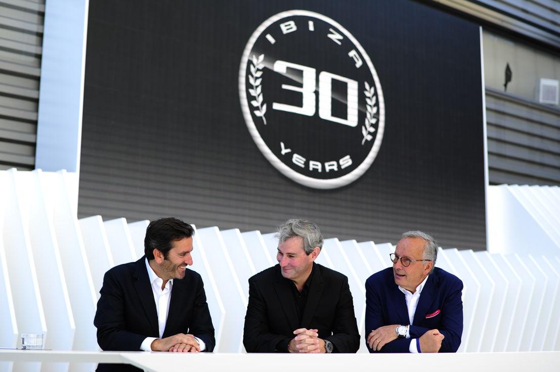 Alejandro Mesonero-Romanos, Luc Donckerwolke and Walter de Silva, three of the fathers of the Ibiza