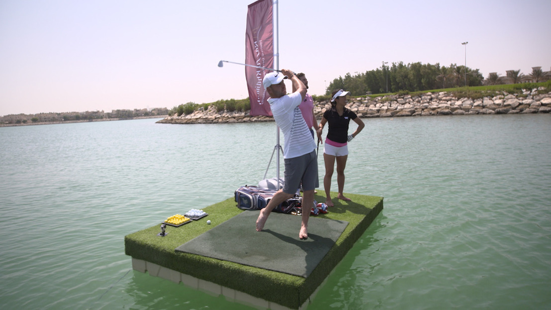 Ras Al Khaimah Golf Challenge Champion Jordan Smith Masters 'PaddleGolf' Test