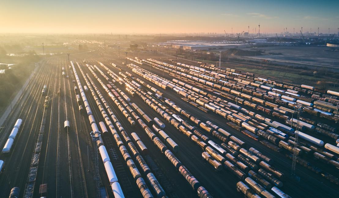Duurzame spoorvisie voor haven Antwerpen