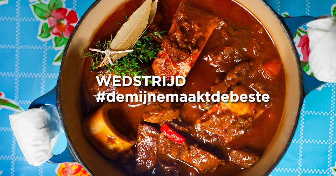 Het ultieme stoofvleesrecept van Vlaanderen schittert dit najaar in 'De mijne is de beste - Hét stoofvleesboek'