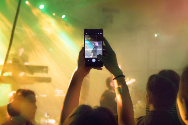 Preview: Nouveau record de consommation d'internet mobile du festivalier belge