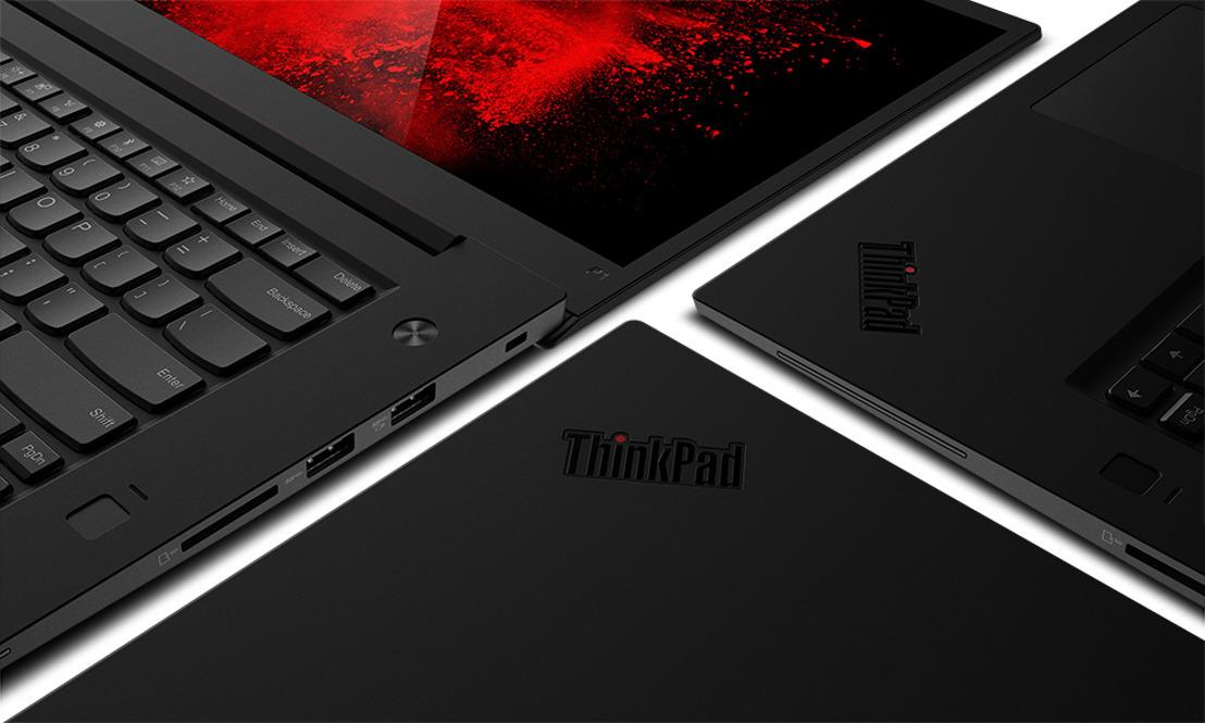 Les nouveaux ThinkPad P1 et P72