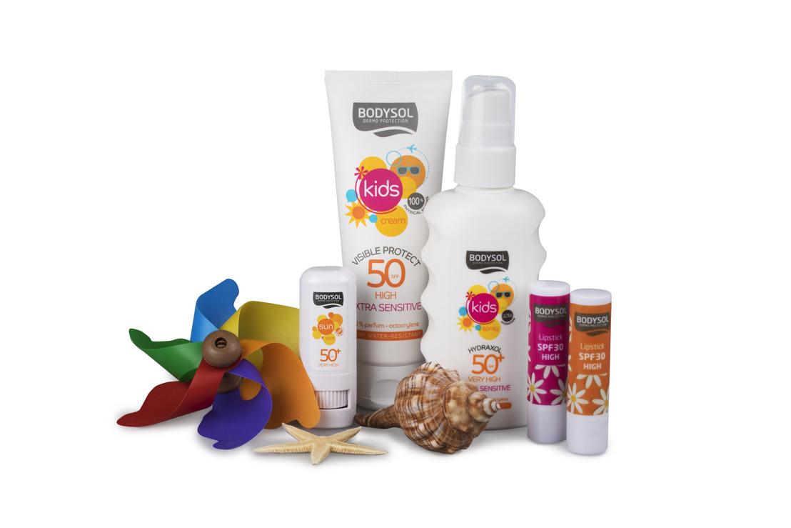 Nieuw van Bodysol Sun: smeren is kinderspel!