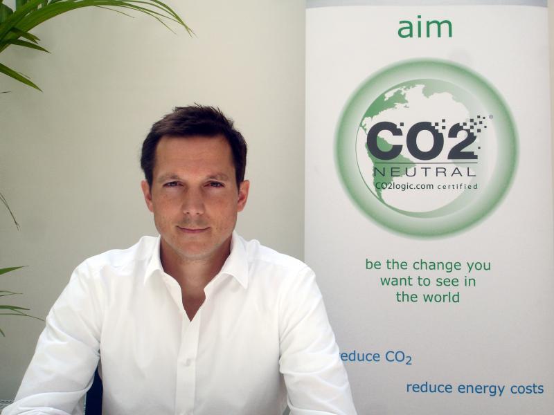 Antoine Geerinckx, Fondateur CO2Logic