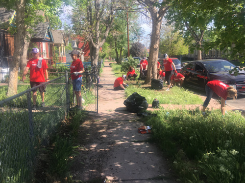 Successful RED Day renews 10 homes in the La Alma/Lincoln Park Neighborhood & benefits low income veterans in Lakewood