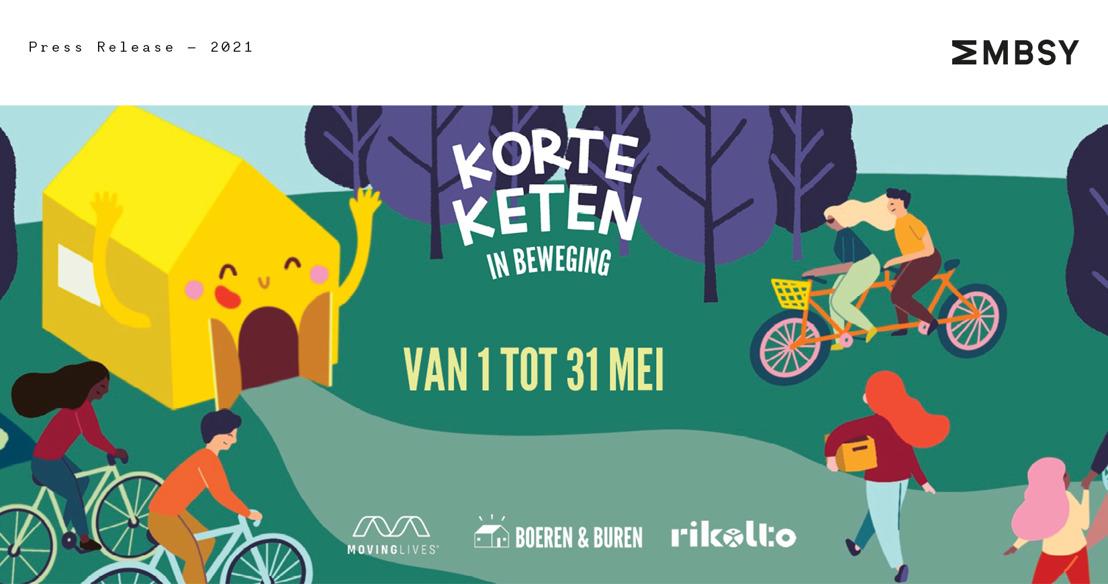 Boeren & Buren lanceert 'De Korte Keten in Beweging': wandel- en fietstochten langs lokale producenten en boerderijen ten voordele van Rikolto