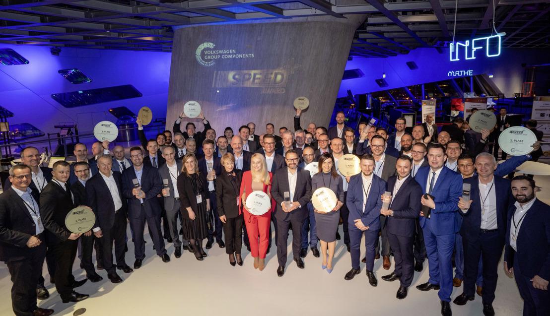 Componentes del Grupo Volkswagen presenta el Premio SPEED+