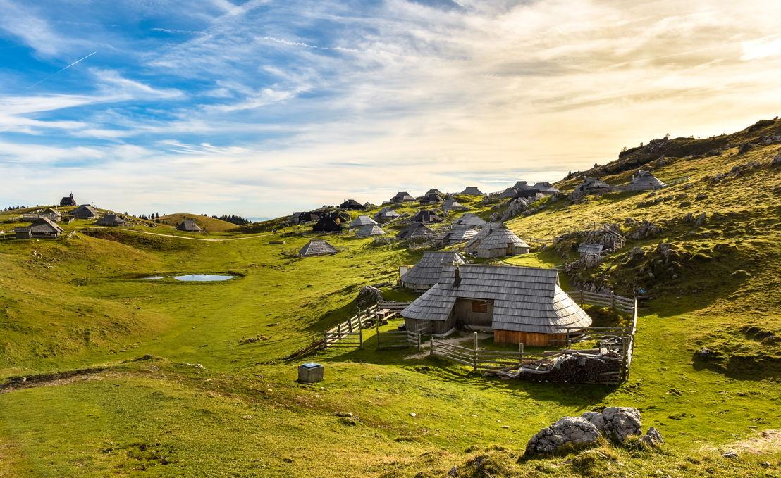Slovenia: Velika Planina - Kamnik Alps