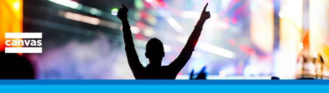 Canvas zet muziekzomer in met Festivalkoorts