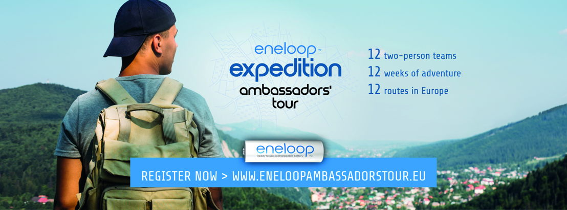 eneloop ambassadors' tour - register