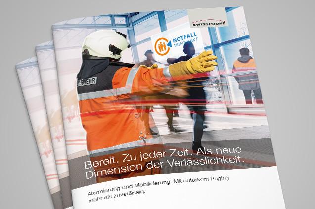 Preview: Neue Broschüre: autarkes Paging und Notfalltreffpunkte