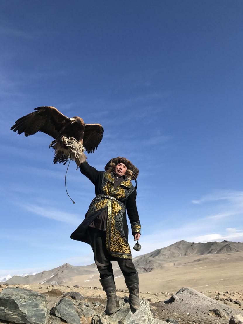 Eagle hunter Beken