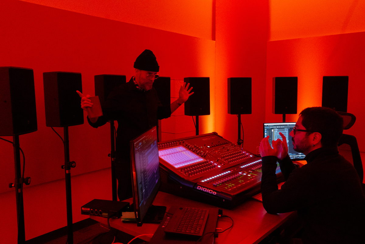 """Dennis White (Latroit) collaborated with L-Acoustics L-ISA engineer Carlos Mosquera on the immersive mix of """"Dance My Tears Away.""""  (Photo credit: ZB Images)"""