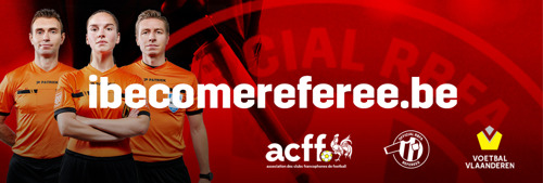 Preview: Belgian football looking for 700 additional referees through large-scale recruitment campaign
