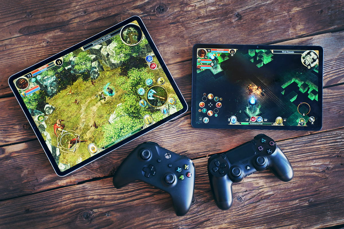Titan Quest is now playable with a controller! And you can switch input on the fly! Source: HandyGames