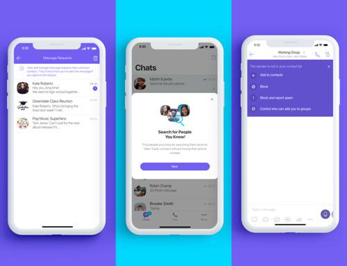 Rakuten Viber с нови инструменти за борба със спама