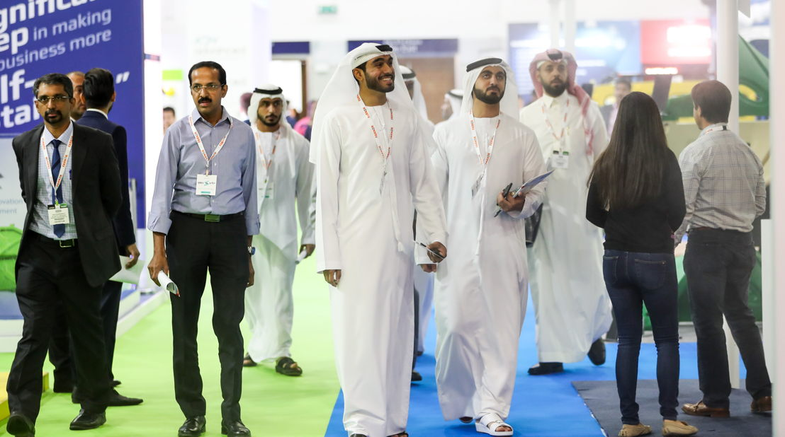 Visitors at the four co-located events