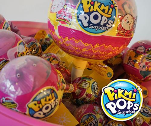 ¡Pikmi Pops llegan a México! las paletas llenas de sorpresas con los personajes de peluche más tiernos y deliciosamente perfumados